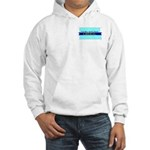 Hooded Sweatshirt - True Blue North Dakota LIBERAL