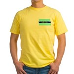 Yellow Tee for a True Blue North Dakota LIBERAL