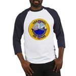 USS HULL Baseball Jersey