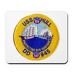 USS HULL Mousepad