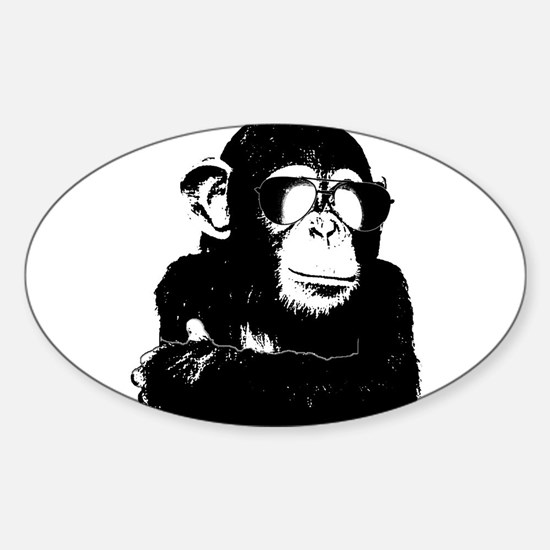 The Shady Monkey Decal