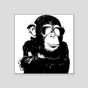 The Shady Monkey Sticker