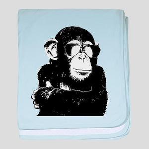 The Shady Monkey baby blanket