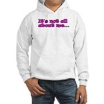 It's not all about me Youth Hooded Sweatshirt