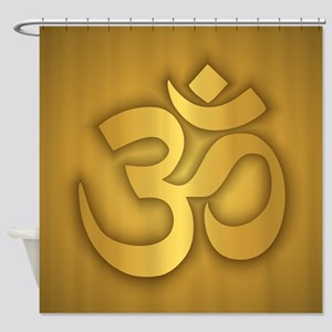 Om Shower Curtain