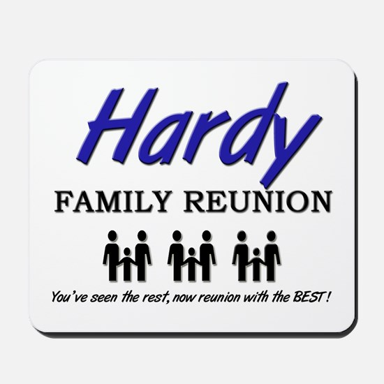 Hardy Family Reunion Mousepad