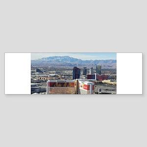 Vegas View Bumper Sticker