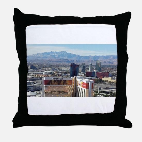 Vegas View Throw Pillow