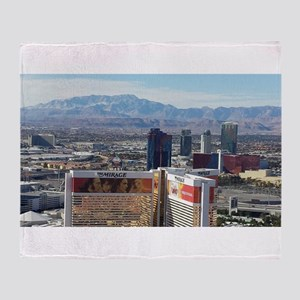 Vegas View Throw Blanket