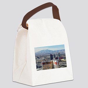 Vegas View Canvas Lunch Bag