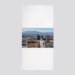 Vegas View Beach Towel
