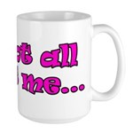It's not all about me Christian Youth Large Mug
