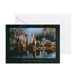 Church across Avon Greeting Cards (Pack of 6)