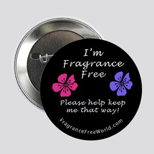 "I'm Fragrance Free! 2.25"" Button (100 pack)"