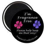 "I'm Fragrance Free! 2.25"" Magnet (10 pack)"