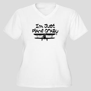 Funny Plane Plus Size T-Shirt