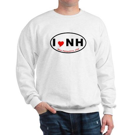 New Hampshire Euro Oval T-shi Sweatshirt