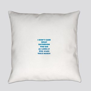 Don't Care Everyday Pillow