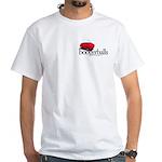 Boogerballs Peel White T-Shirt