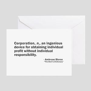 Corporation Greeting Card