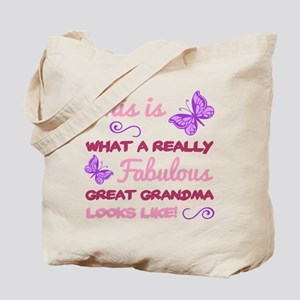 Fabulous Great Grandma Tote Bag