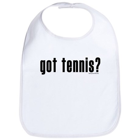 got tennis? Bib