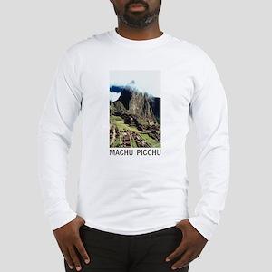 Machu Picchu Long Sleeve T-Shirt