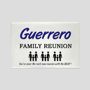 Guerrero Family Reunion Rectangle Magnet