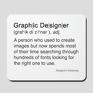 Graphic Designer Mousepad