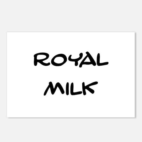 Royal Milk Postcards (Package of 8)