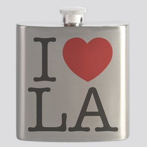 I Heart L.A. Flask