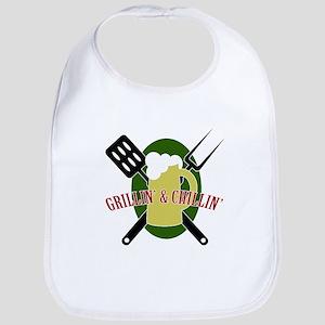 Chillin' & Grillin' Bib