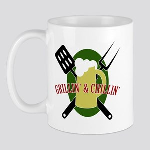 Chillin' & Grillin' Mug