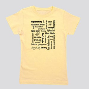 Highland Dancing WORDS T-Shirt