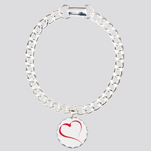 Heart by lh Charm Bracelet, One Charm