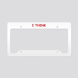 mistress License Plate Holder