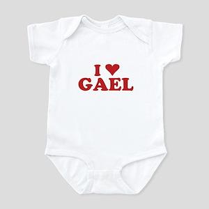 I LOVE GAEL Infant Bodysuit