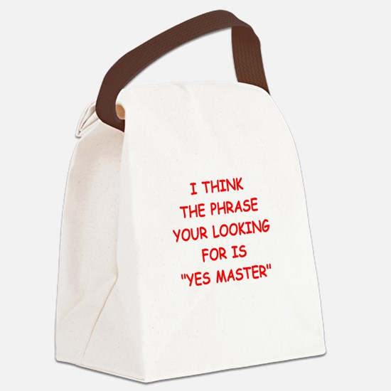 master Canvas Lunch Bag