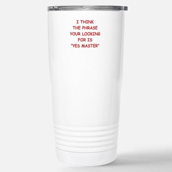 master Travel Mug