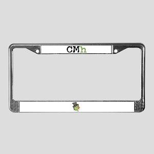 CMh License Plate Frame