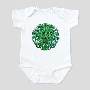 Green Man Gaze Infant Bodysuit