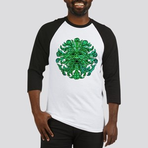Green Man Gaze Baseball Jersey