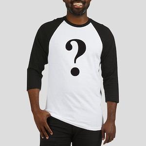 Question Mark Baseball Jersey