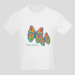 3 butterflies big sister Kids Light T-Shirt