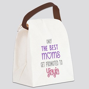 Best Moms to Yiayia Canvas Lunch Bag