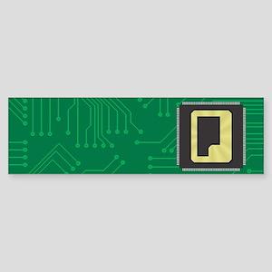 CIRCUIT BOARD Q Sticker (Bumper)