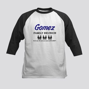Gomez Family Reunion Kids Baseball Jersey