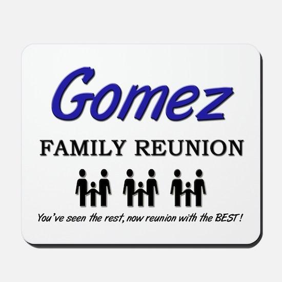 Gomez Family Reunion Mousepad