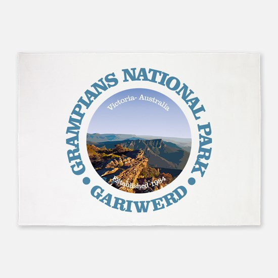 Grampians National Park 5'x7'Area Rug