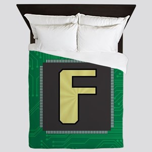 CIRCUIT BOARD F Queen Duvet